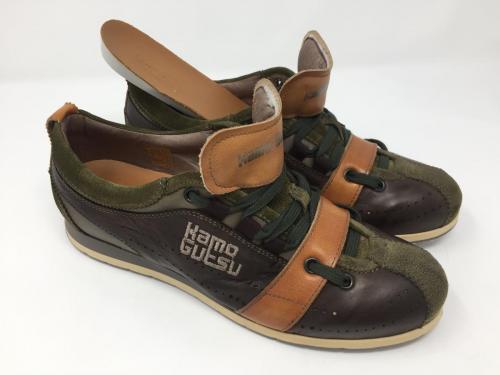 Sneaker grün braun, Gr. 38, 159.- jetzt 125.-