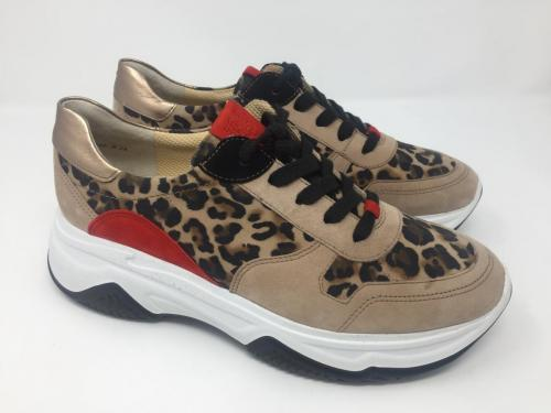 Neu, Sneaker beige/leoprint, 159.- jetzt 125.-