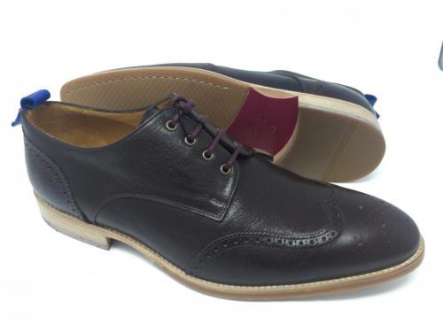 Klassischer Schnürschuh dunkelbraun Gr.  43 und 45, 189.- jetzt 94.50