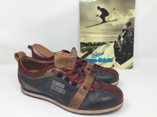 Original Sneaker von Kamo-Gutsu blau Multi  179.- jetzt 143.-