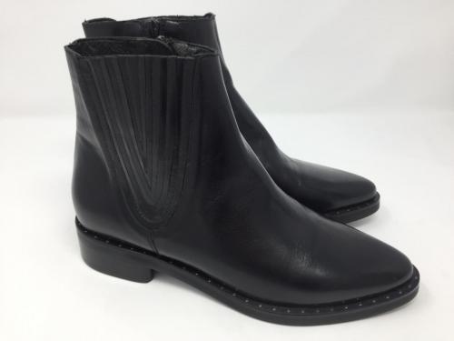 Elegante Stiefelette schwarz Gr. 37, und 42, im Sale 119.90