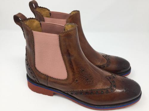 Chelsea Boots mittelbraun Gr. 42, Sale 79.95