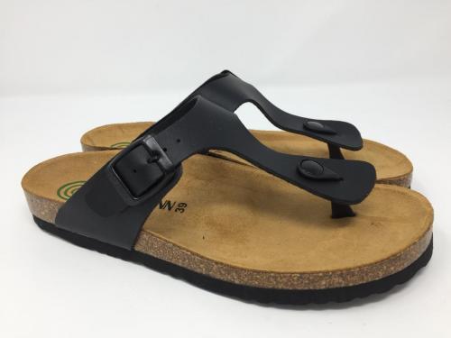 Flipflops mit Fußbett schwarz Gr. 36, 19.90