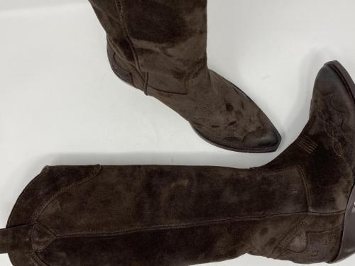 Western Stiefel dunkelbraun Gr. 37, 39, 40 und 41, 189.-