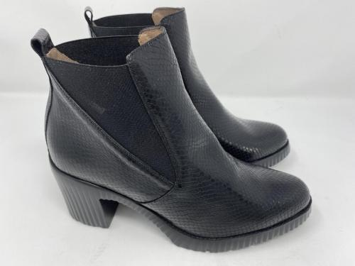 Chelsea Boots schwarz Snakeprint Gr. 35 - 41, 139.90