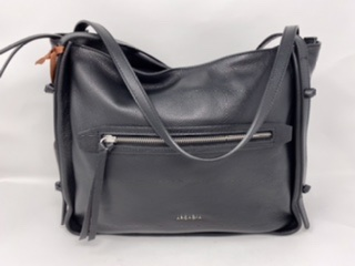 Größere Lederhandtasche  in schwarz 179.90
