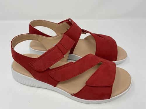 Sandalette rot Gr. 36 -42, 89.90