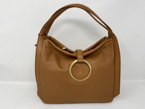 Handtasche cognac 199.-