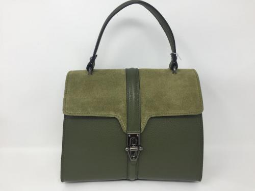 Lederhandtasche oliv 139.90