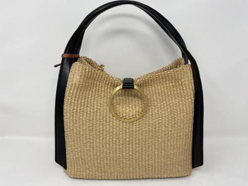 Handtasche Bast Leder 199.-