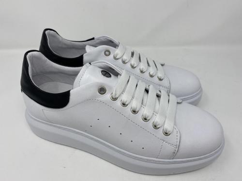 Exton Sneaker in clean weiß mit schwarzem Akzent Gr. 40 - 46, 129.90