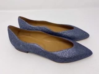 Glitzerballerina grau-blau Gr 37 - 42, 129.90 jetzt 99.90