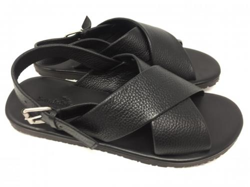 Sandale schwarz Gr. 43, 44 und 45,  85.- jetzt 42,50