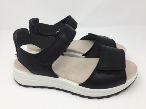 Sandalette schwarz  84.90 Gr. 36, jetzt 42.-