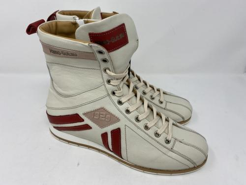Boxing Boots weiß mit rot Gr. 37 - 41, 169.-