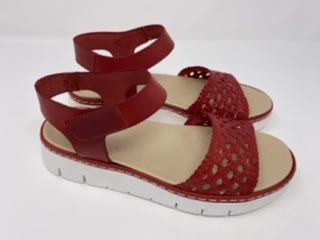 Sandalette rot Gr. 37, 119.90 jetzt 60.-