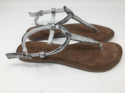 Flipfop Sandalette silber Gr. 42, 39.90 jetzt 29.90