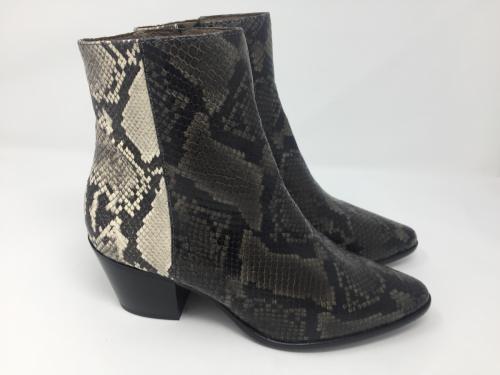 Stiefelette snakeprint grau-weiß Gr 36,37,38 und 39 159.- jetzt 79.50
