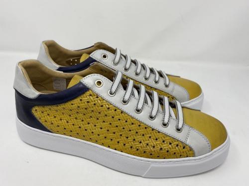 Exton Sneaker gelb weiß dunkelblau Gr. 42  - 46, 129.90, Größe 45 ausverkauft