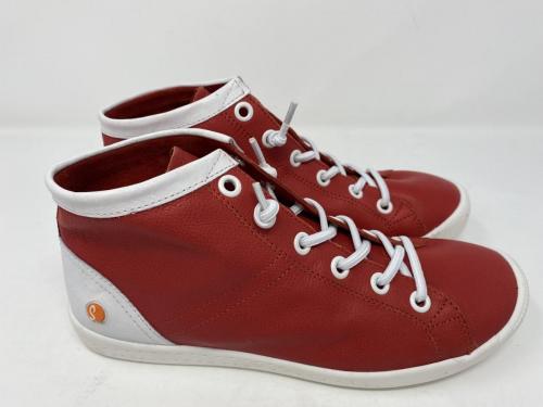 Sneaker Slip-on rot weiß Gr. 38 und 39,  110.-