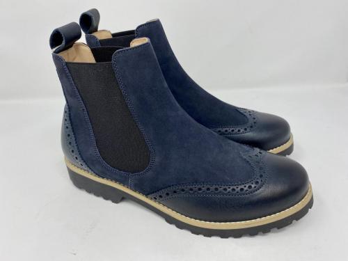 Chelsea Boots dunkelblau Gr. 37 - 41, 155.-