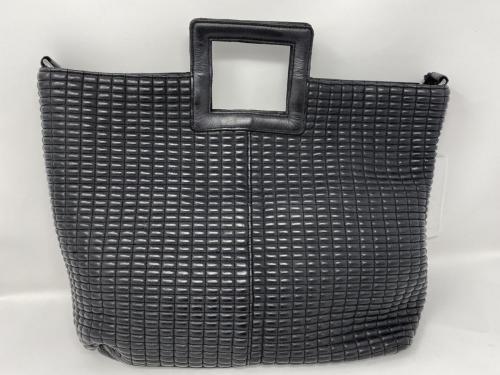 Leder Shopper schwarz 199.-