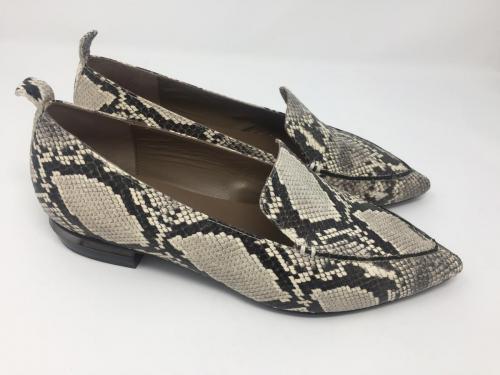Slipper snakeprint schwarz-weiß Gr 37 - 40, 119.90 jetzt 60.-