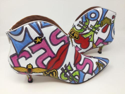 Stiefelette multicolor Gr. 37 - 41, 169.-
