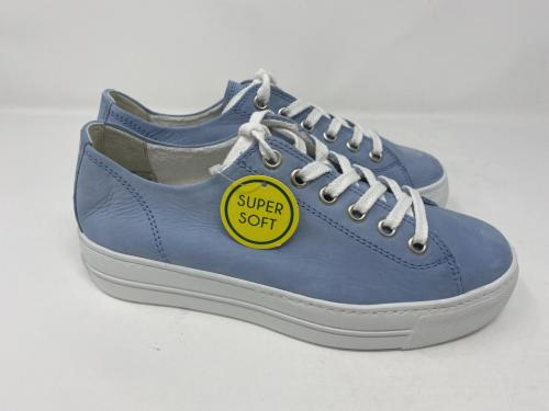 Sneaker himmelblau Plateau Sohle Gr. 38,5 - 41, 139.90
