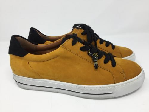 Neu, Sneaker Nubukleder Curry Gr. 38 - 41, 149.-