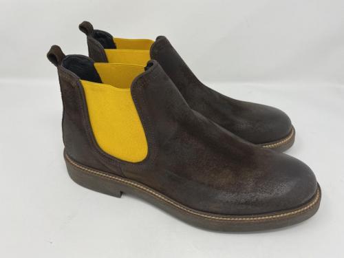 Exton Chelsea Boots dunkelbraun Gr. 41 - 46, 119.90