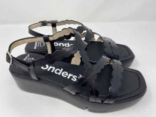 Plateau Sandalette schwarz Gr. 38 - 42, 99.90Größe 40 ausverkauft
