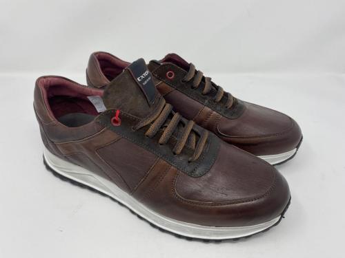 Exton Sneaker dunkelbraun Gr. 40 - 46, 119.90