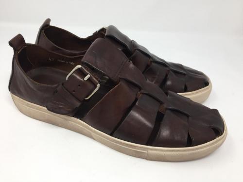 Sandale dunkelbraun Gr. 43 und 45, 105.- jetzt 52.50