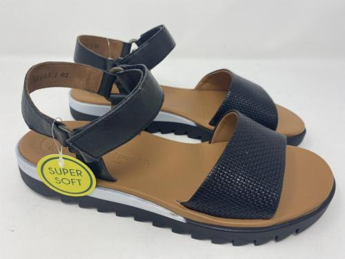 Sandalette schwarz Gr. 37,5/ 40 und  42, 119.90
